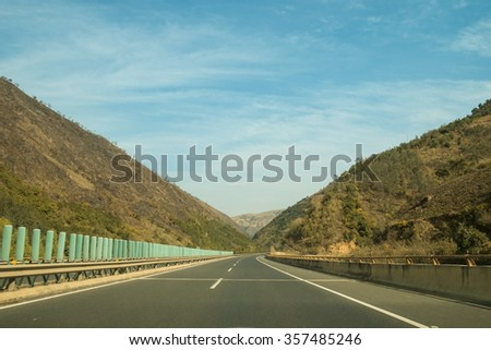 Outdoor road - stock photo