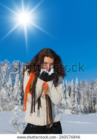 Outdoor Season Fashion Under the Sun  - stock photo