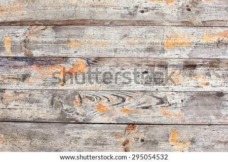 outdoors old plank wood textured pattern hardwood - stock photo