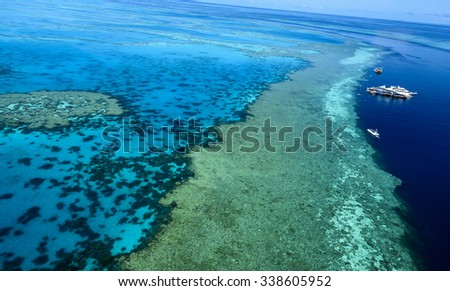 outer reef channel passage great barrier reef Whitsundays