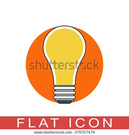 outline light bulb icon