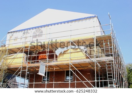 House Reconstruction house reconstruction stock images, royalty-free images & vectors