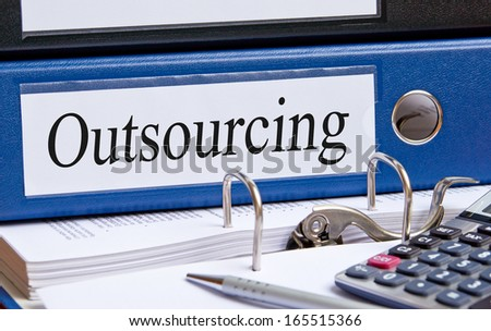 Outsourcing - stock photo