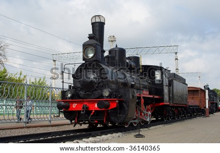 OV-series Russian steam engine