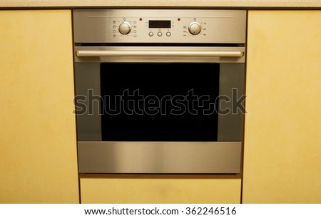 Oven for cooking - stock photo