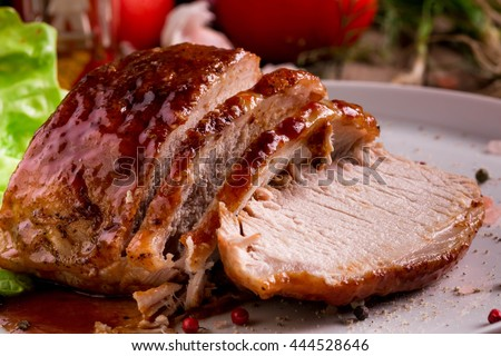 Oven Roasted Herb Pork Loin. Quick and easy dinner recipe.