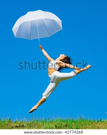 Over the hills and far away! - stock photo