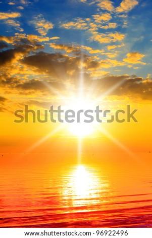 Over Water Idyllic Heaven - stock photo