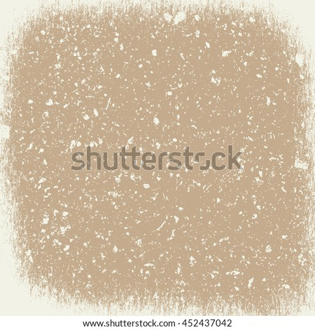 Overlay Vignetted Beige Texture for your design. - stock photo