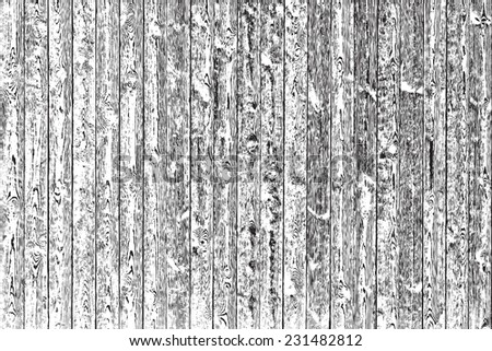 Overlay Wooden Texture - Knotted Planks Background, for your design. - stock photo