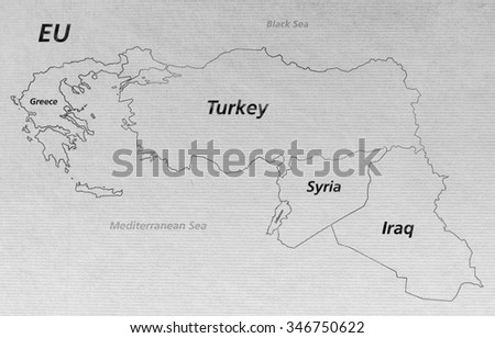 Overview crisis map turkey syria iraq stock illustration 346750622 overview crisis map turkey syria iraq lebanon greece eu ii gumiabroncs Images