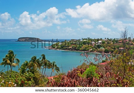 St barts stock images royalty free images vectors for Marigot beach st barts