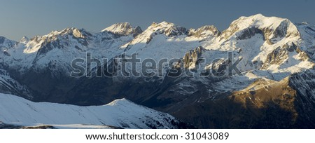 overview of Pyrenees