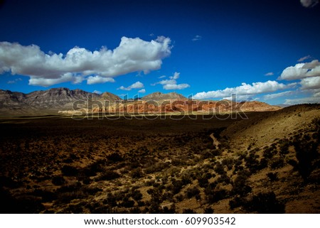 Overview of Red Rock Canyon National Conservation Area