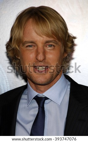 "Owen Wilson at the Los Angeles premiere of ""How Do You Know"" held at the Regency Village Theater in Westwood, USA on December 13, 2010."