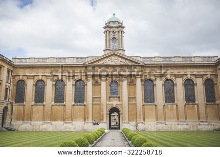 Oxford Uk May Th University Stock Photo - Where is oxford located