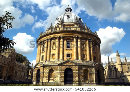Oxford, UK, September 13, 2007 : The Radcliffe Camera,originally built to house the Radcliffe Science Library, but is now an additional reading rooms for the Bodleian Library
