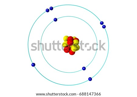 Oxygen atom stock images royalty free images vectors shutterstock oxygen atom with proton neutron and electron 3d bohr model illustration sciox Gallery