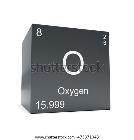Oxygen chemical element symbol periodic table stock illustration oxygen chemical element symbol from the periodic table displayed on black cube 3d render urtaz Gallery