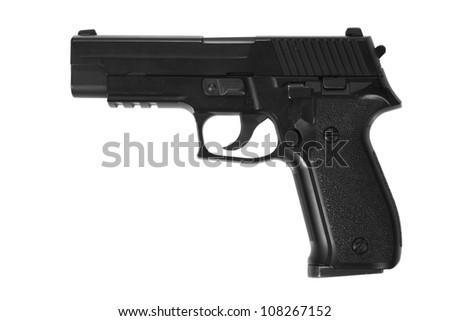 P226 hand gun - stock photo