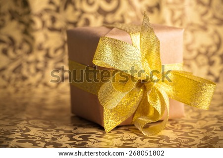 Package. Receiving a Parcel - stock photo