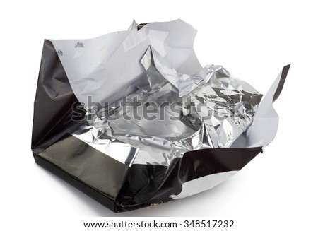 packaging of a chocolate bar - stock photo