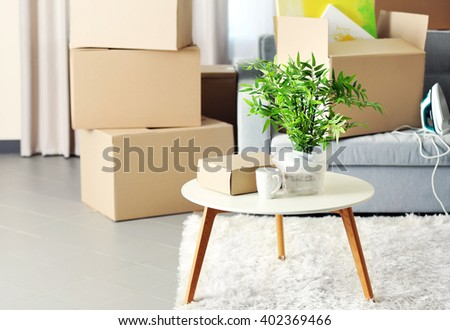 Home Furniture Movers Concept Interior Delectable Moving House Stock Images Royaltyfree Images & Vectors . Design Inspiration