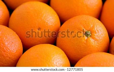 Packed Oranges