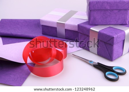 packing - stock photo