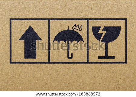 Packing crate - stock photo