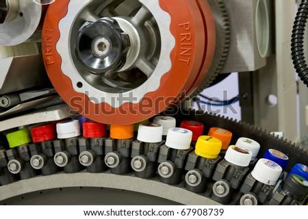 Pad printing machine - stock photo