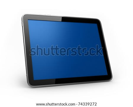 PAD Tablet landscape - stock photo