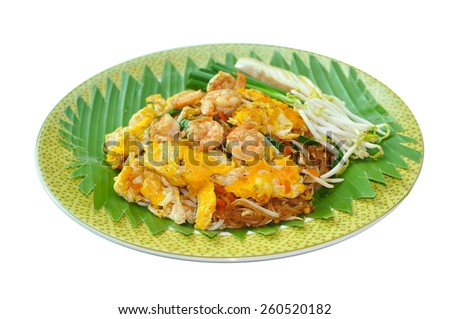 Pad Thai Goong Sod