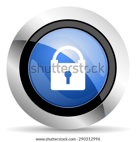 padlock icon secure sign original modern design for web and mobile app on white background