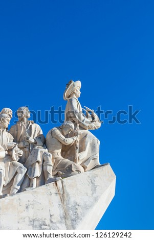Padrao dos Descobrimentos - The Monument to the Discoveries in Lisbon, Portugal