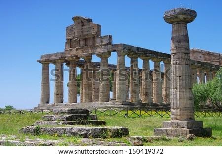 Paestum  - stock photo