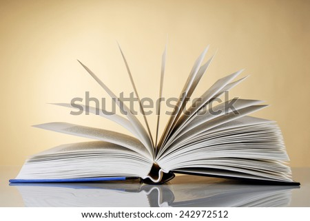 Pages of an open book
