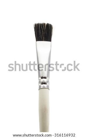 pain brush - stock photo
