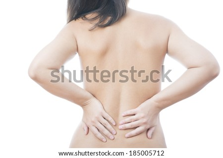 Pain in the lower back. Caring for the female body.