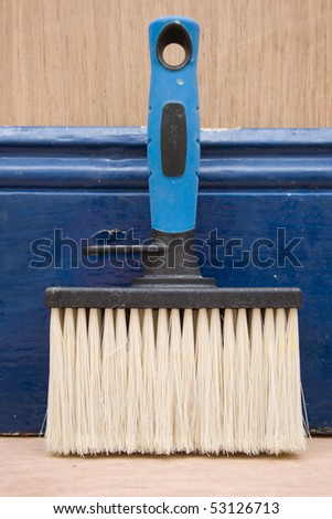 Paint brush for home improvements.