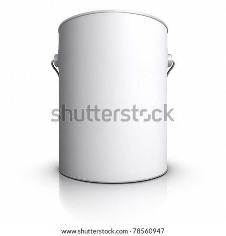 Paint Can. - stock photo