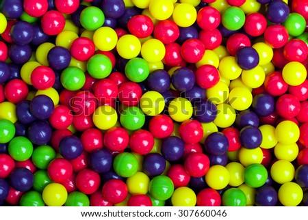 Paintball background - stock photo