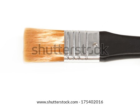 Paintbrush isolated on white background