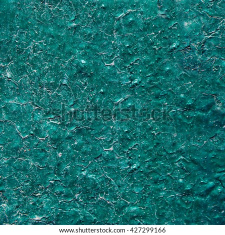 Painted blue wall background or texture