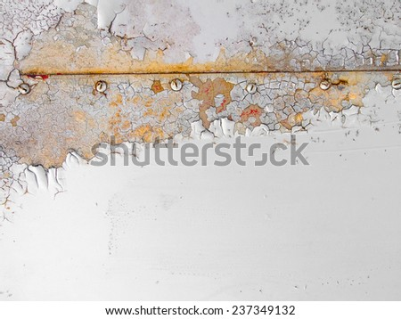 Painted Metal background - stock photo
