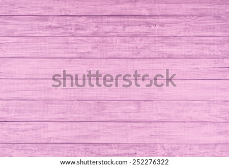 Painted Plain Bright Pink and Gray Rustic Wood Board Background that can be either horizontal or vertical. Blank Room or Space area for copy, text,  your words, above looking down view. Tinted photo. - stock photo