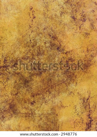Painted Texture with Detail - stock photo