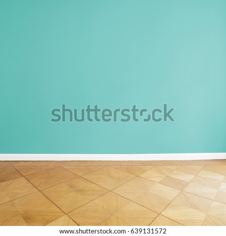 painted wall background empty apartment room stock photo royalty