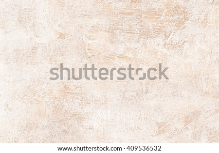 Painted Wall Texture. Beige Colored