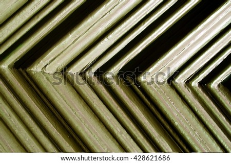 Painted Wood - stock photo